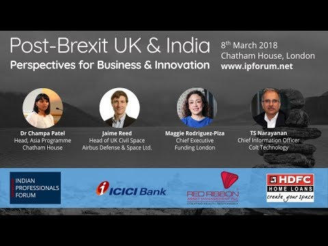 Post-Brexit UK-India: Perspectives for Business & Innovation
