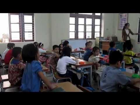 4.Thao giảng môn Toán lớp 1D