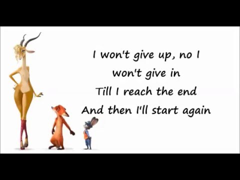 Shakira - Try Everything Lyrics (Zootopia)