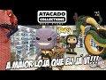 A maior loja de colecionáveis da América Latina fica no Paraguai: Atacado Collections! Funko POP ♥