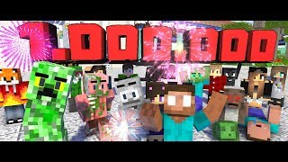 Monster School  1.000.000 SUBSCRIBERS Challenge - Minecraft Animation