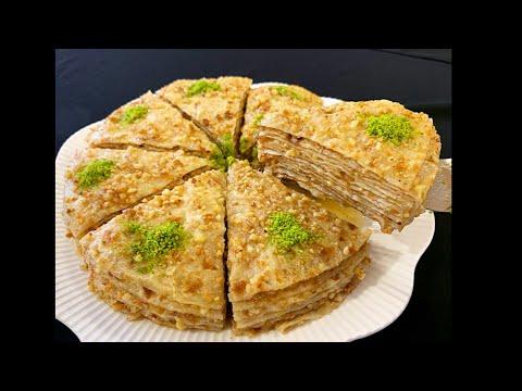 Ramazan'a Damgasını Vuracak Bir Şerbetli Tatlı🥰Taş Ekmeği Tatlısı🥰BERA TATLİDUNYASİ