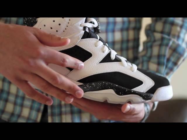 76f1d60a5c7 Review: Air Jordan 6 Retro - Oreo (White / Black) - YouTube