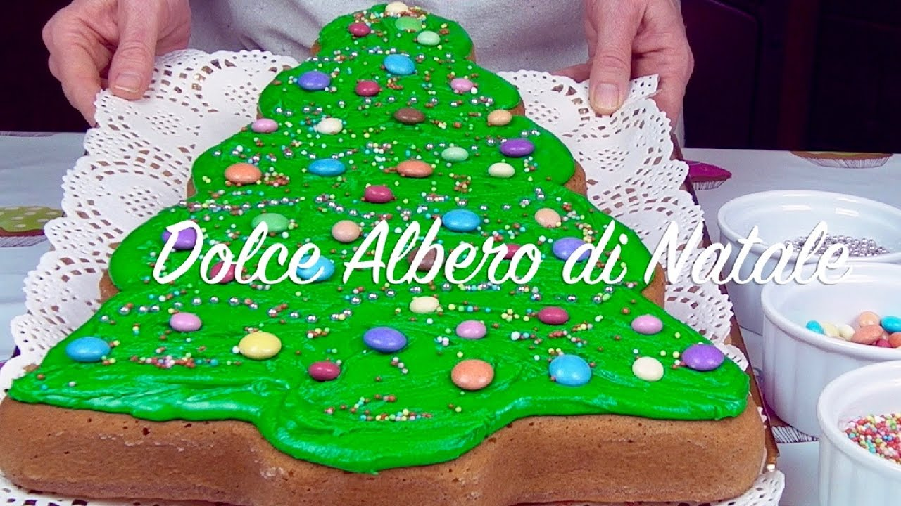 Dolce Di Natale Albero.Dolce Albero Di Natale Youtube