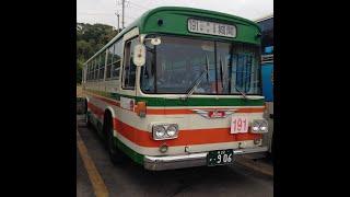 沖縄 東陽バス 730車 旧型バス 日野RE101 に乗った!