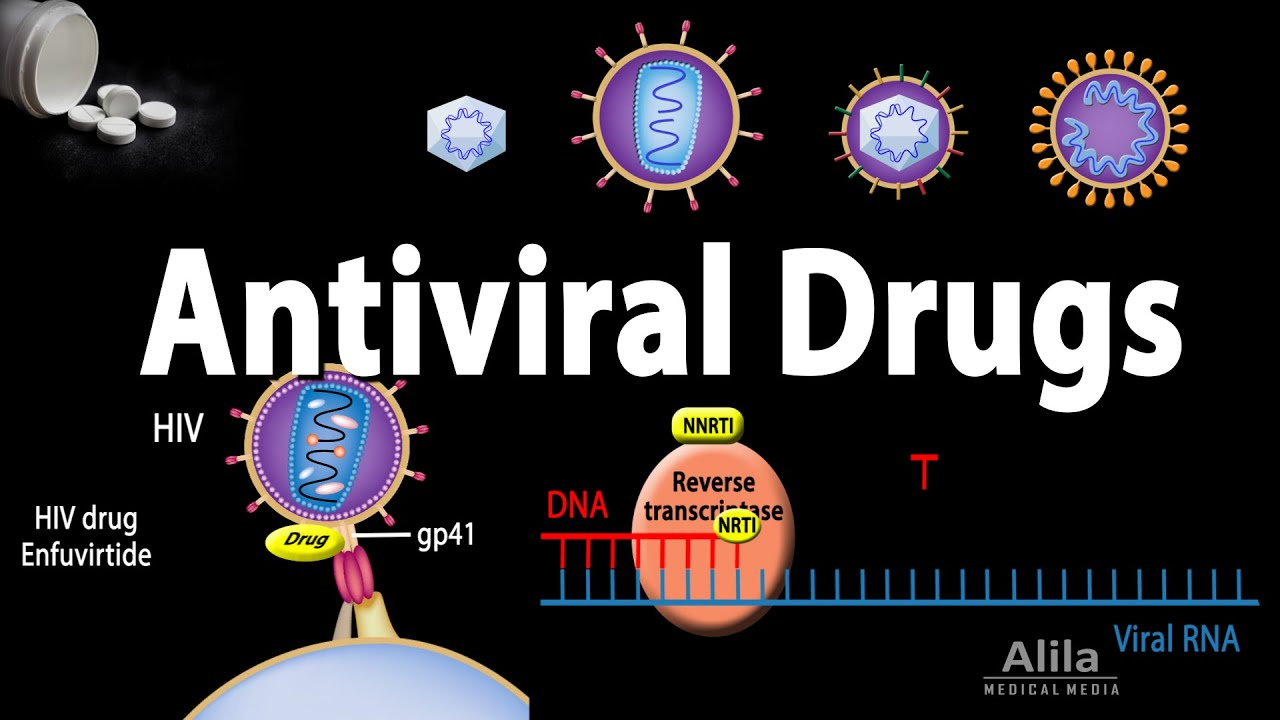 Antiviral drugs side effects
