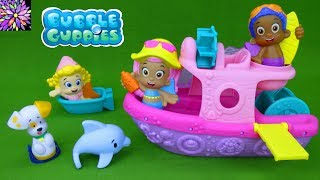 Bubble Guppies Toys Molly's Boat Color Changers Molly Bubble Puppy Gil Mermaid Bath Time Toys Video
