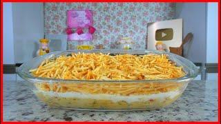 Galinha Descabelada – Torta de Frango Super Saborosa