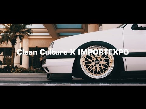 Clean Culture X IMPORTEXPO - Florida Showcase  - Presented by Bag Riders