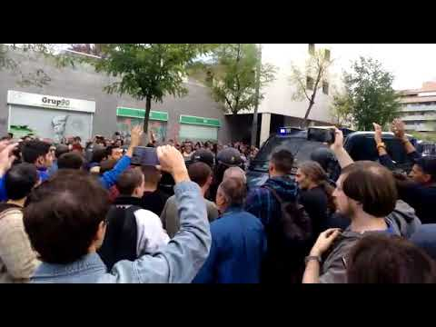 Policia Nacional disparos en Lleida