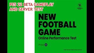 Beta Testing PES 22 Demo Online Servers - Konami new Football game