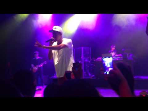 Dollar and a Dream Tour 2014 London - I Get Up - J.Cole live