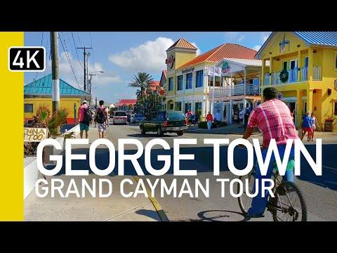 Virtual Grand Cayman Walking Tour - George Town, Cayman Islands & Cruise Port Virtual Vacation