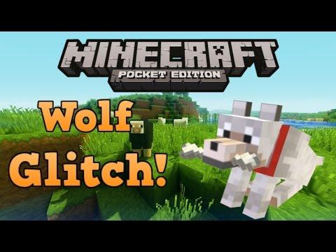 [0.9.5] Minecraft PE : Cool Wolf Glitch!