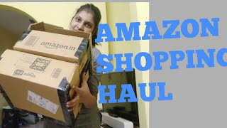 HUGE AMAZON SHOPPING HAUL(TELUGU)