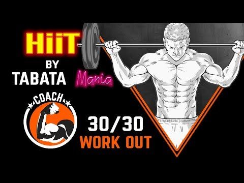 HiiT Workout Music 30/30 w/ TIMER by TABATAMANIA