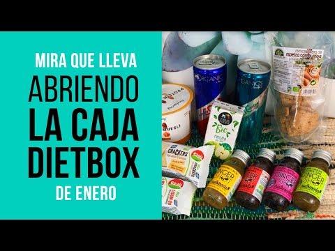 Abriendo la Caja Dietbox de Enero
