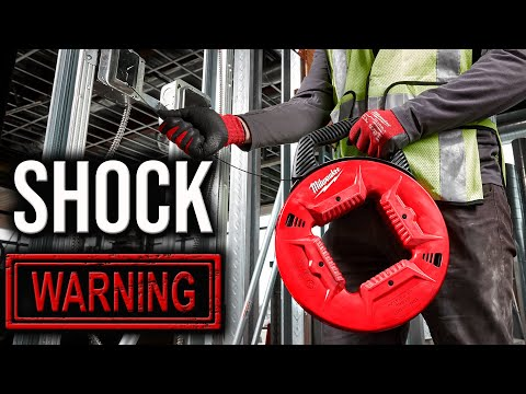 Milwaukee Tools NEW FISH TAPES ARE THE ELECTRICIAN INDUSTRIES BEST! (Shock Warning)