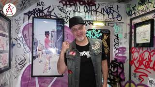 Pop Master Fabel Interview at the [R]Evolution of Hip Hop Experience