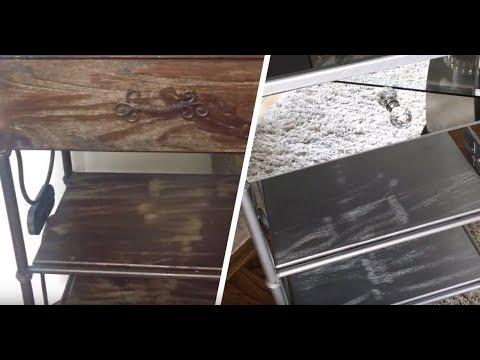 DIY: Mirror glass stand