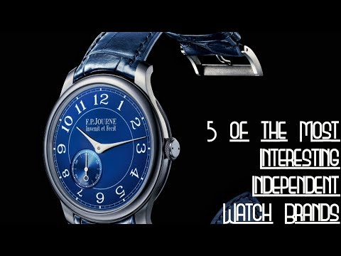 Five of the Most Interesting Independent Watch Brands