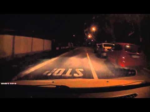 Remax CX-01 Dashboard Camera Night Sample Recording [MOBzine.ro]