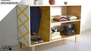 Como hacer Mueble Organizador Vintage! (How to make Furniture Organizer)