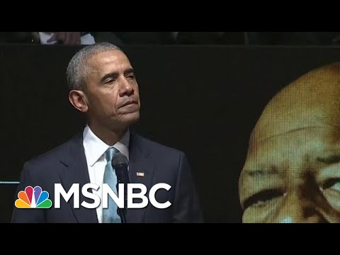 Obama Pays Tribute To Cummings: 'Being A Strong Man Includes Being Kind'   Andrea Mitchell   MSNBC
