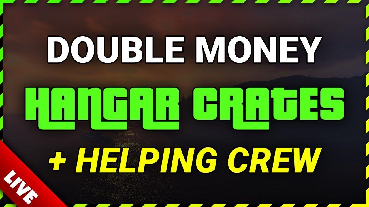 GTA Online GRINDING DOUBLE MONEY Hangar Crates | Selling Nightclub in Populated Lobby