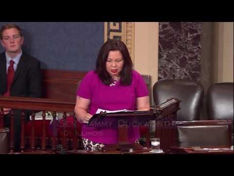 Duckworth Gives Maiden Speech on the Senate Floor