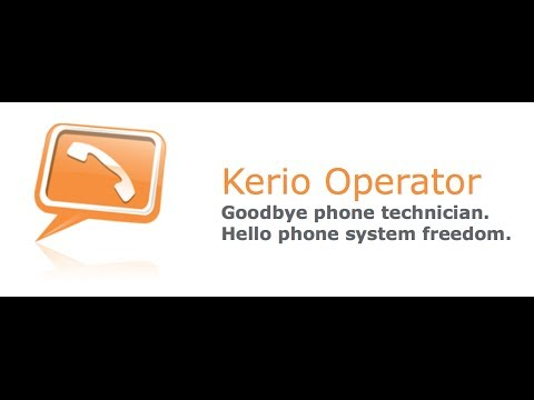 Provisioning phones with Kerio Operator (English)