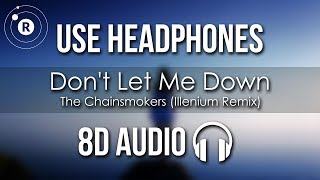 Gambar cover The Chainsmokers ft. Daya - Don't Let Me Down (Illenium Remix)