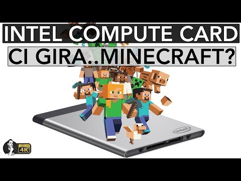 INTEL COMPUTE CARD | CI GIRA... MINECRAFT?