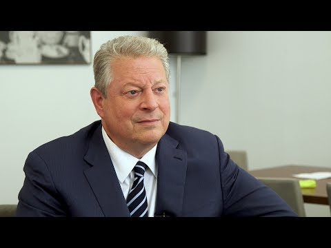 Al Gore says he has no desire to talk with President Trump