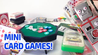 MINI CARD GAME Working Miniatures!