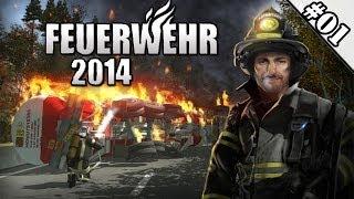 Feuerwehr 2014 #01 - Erster Tag & glei Amok! ★ Let