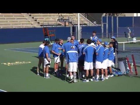 01 24 2016 UCLA#1 Vs Georgia Tech #1 men's doubles at LATC