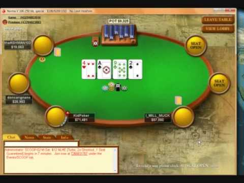 Online no limit texas holdem real money
