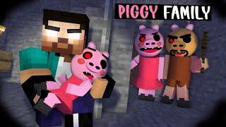 PIGGY ROBLOX FAMILY  - SAVE BABY PIGGY - XDJAMES ANIMATION