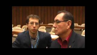 Chief Wilton Littlechild (Walking Wolf), United Nations, HRC, Minority Forum, 16 dec 2008
