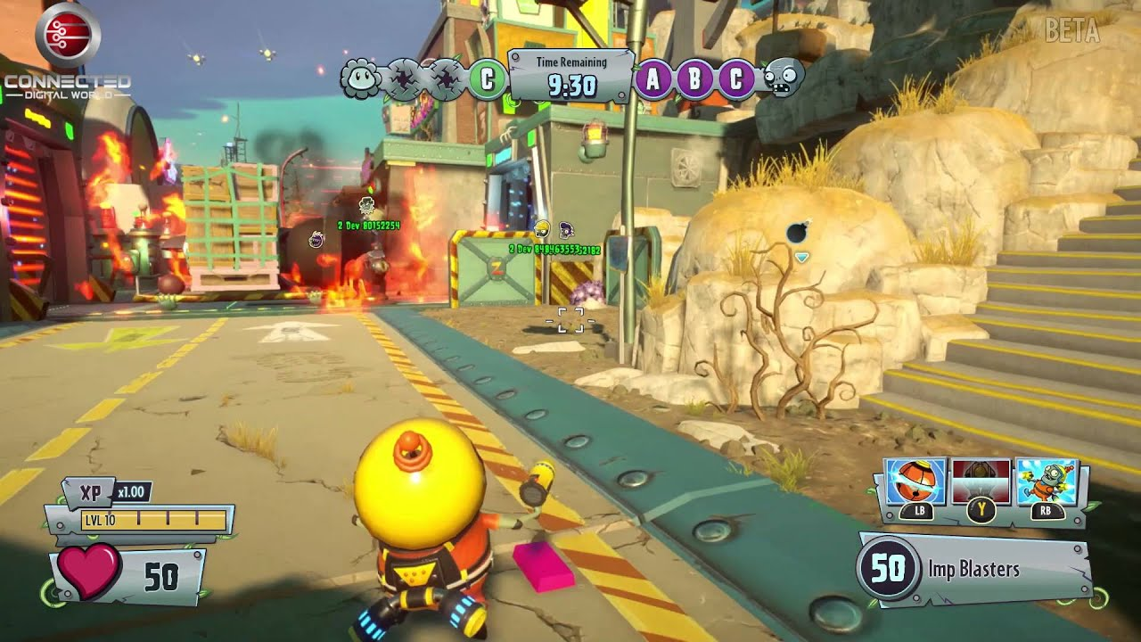 Plants Vs Zombies Garden Warfare  Gardens And Graveyards Seeds Of Time Zombies More Gameplay