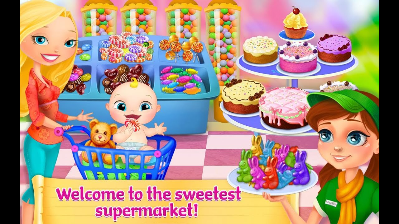 SuperMarket Girl Videos games for Kids - Girls - Baby ...