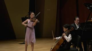 Vivaldi: Sonata in C minor, RV 83 for violin, cello and piano - Classics Alive Winner's Recital