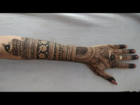 Bridal Mehndi Design For Full Hand Bridal Mehendi Design