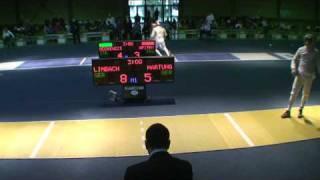 20100226 ms gp Plovdiv 8 yellow LIMBACH Nicolas GER 15 vs HARTUNG Max GER 8 sd No