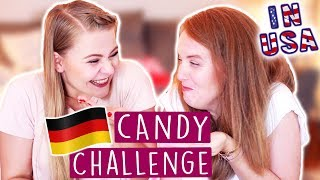 GERMAN CANDY CHALLENGE - Mit USA Hostmom 🇩🇪🇺🇸