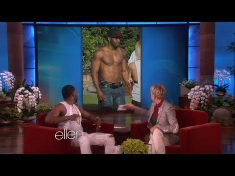 Jason Derulo Loves Ellen's Underwear On Ellen Show