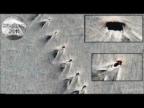 Antarctica mystery base discovered on Google Earth