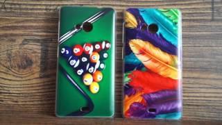 Microsoft Lumia 535 Чехол Бампер с фамилией, именем, фото, картинкой(Подробнее в нашей группе в ВК: https://vk.com/chehol_bamper + Мы печатаем на более чем 100 моделей телефона! + Печатаем..., 2016-03-18T08:29:12.000Z)