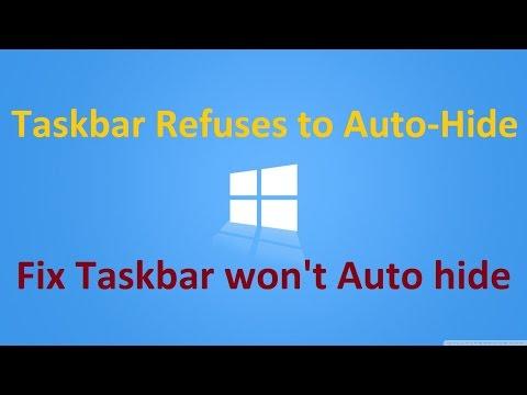 [Fix] Taskbar won